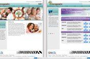 OncogeneDx UX/UI Mockup Screens (Health Industry-BioReference)