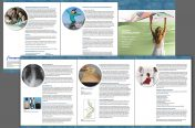 Curvy Brochure (Medical Industry-Transgenomic) Print & Web