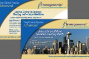 Postcard Mailer Conference Invitation (Medical Industry-Transgenomic)