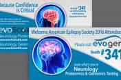 Postcard Mailer for Trade Show (Medical Industry-Evogen)