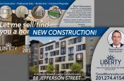 Postcard for Hoboken Apartments (Real Estate Industry-Liberty Reality)