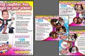 Promotional Handout & Catalog Graphics (Entertainment Industry-Party Magic)