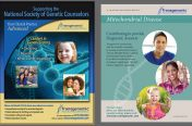 Industry Magazine & Mitochondrial Disease Ad (Medical Industry-Transgenomic)