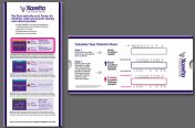 Xarelto NVAF SlideRule (Pharma Industry-One World/Pharma Design)