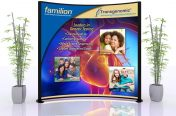 Cardiology 10'x10' Trade Show Lightbox (Medical Industry-Transgenomic)