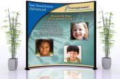 Neurology 10'x10' Trade Show Lightbox (Medical Industry-Transgenomic)
