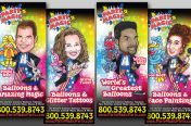 Individual Performer 33x78 Banner Rollups (Entertainment Industry-Party Magic)
